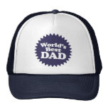 World's Best Dad Father's Day Hats