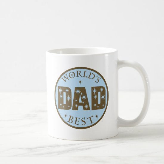 Worlds Best Dad Gift Coffee Mug