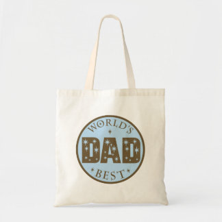 Worlds Best Dad Gift Tote Bag