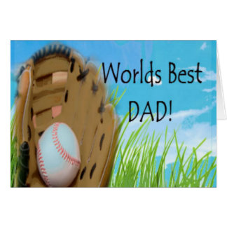 Worlds Best DAD Gifts Card