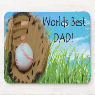 Worlds Best DAD Gifts Mouse Pad