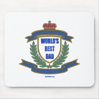 WORLD'S BEST DAD GIFTS MOUSE PAD