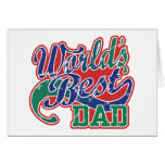 World's Best Dad Greeting Cards
