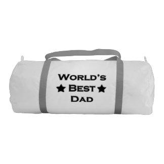 World's Best Dad Gym Bag