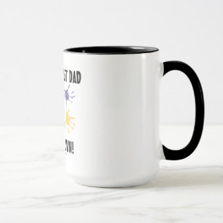World's Best Dad Hands Down Coffee Mug