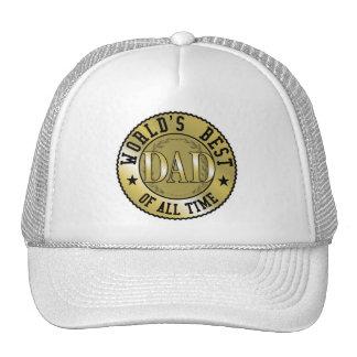 World's Best Dad Mesh Hats
