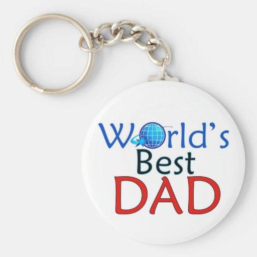 World's Best DAD - Keychain