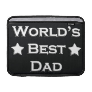 World's Best Dad MacBook Sleeve