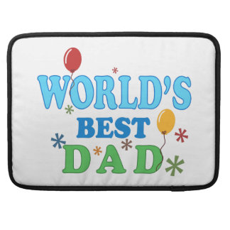 World's Best Dad MacBook Pro Sleeves