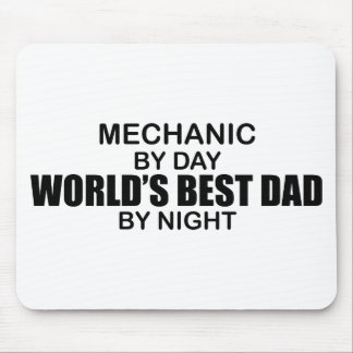 World's Best Dad - Mechanic Mouse Pad