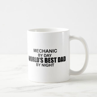 World's Best Dad - Mechanic Coffee Mug