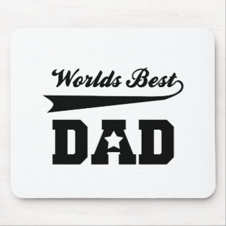 world's best dad mouse pad