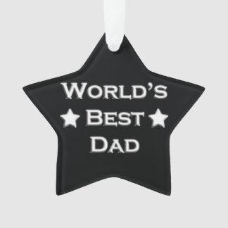 World's Best Dad on Black