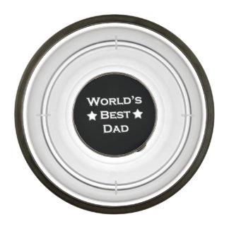 World's Best Dad on Black Bowl