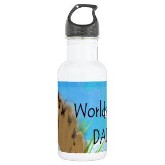 Worlds Best DAD 18oz Water Bottle