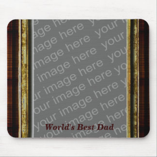 World's Best Dad Photo Mousepad