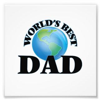 World's Best Dad Photo Print