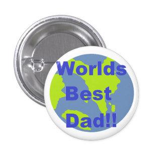 Worlds Best Dad Pinback Button