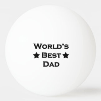 World's Best Dad Ping-Pong Ball