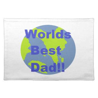 Worlds Best Dad Placemat