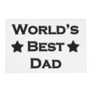 World's Best Dad Placemat