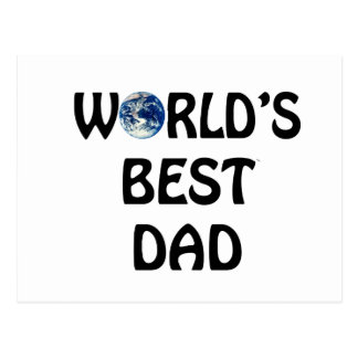 world's best Dad Post Cards