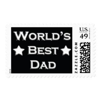 World's Best Dad Postage