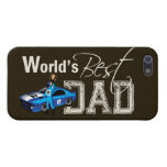World's Best Dad; Racing iPhone 5 Cover
