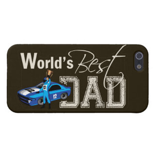World's Best Dad; Racing iPhone SE/5/5s Cover
