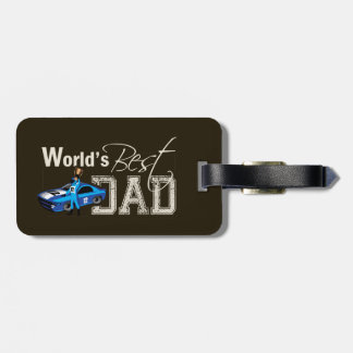 World's Best Dad; Racing Bag Tags