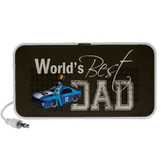World's Best Dad; Racing Notebook Speakers