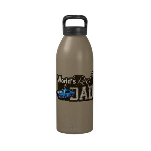 World's Best Dad; Racing Reusable Water Bottles