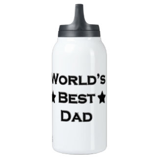 World's Best Dad 10 Oz Insulated SIGG Thermos Water Bottle