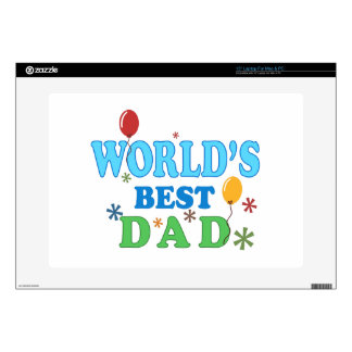 World's Best Dad Skin For Laptop