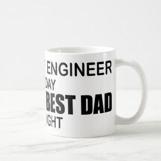 World's Best Dad - Software Engineer Classic White Coffee Mug