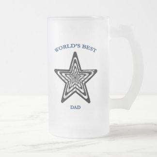 World's Best Dad Star Coffee Mugs