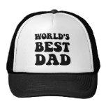 Worlds best dad trucker hat