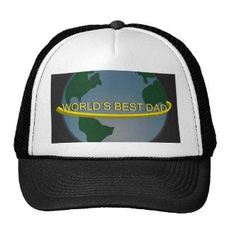 """""""World's Best Dad"""" Trucker Hat"""