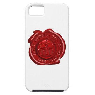World's best dad wax seal iPhone SE/5/5s case