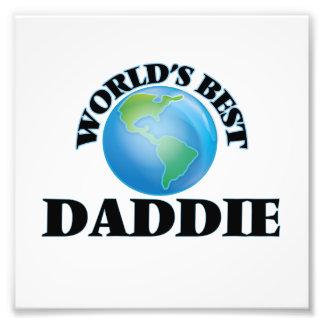 World's Best Daddie Photo Print