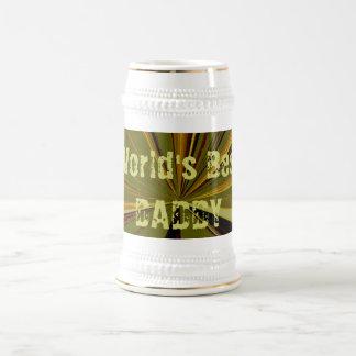 Worlds Best Daddy Beer Stein