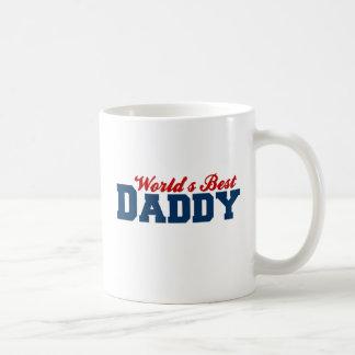 Worlds Best Daddy Classic White Coffee Mug