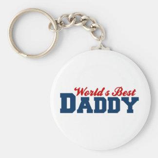 Worlds Best Daddy Keychain