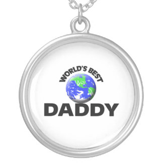 World's Best Daddy Personalized Necklace
