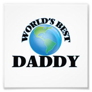World's Best Daddy Photo Print
