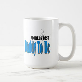 World's Best Daddy To Be Classic White Coffee Mug