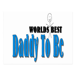 World's Best Daddy To Be Postcard