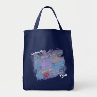 Worlds Best Dadism Bag