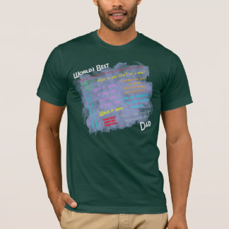 Worlds Best Dadism Shirt