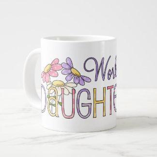 Worlds Best Daughter Giant Coffee Mug